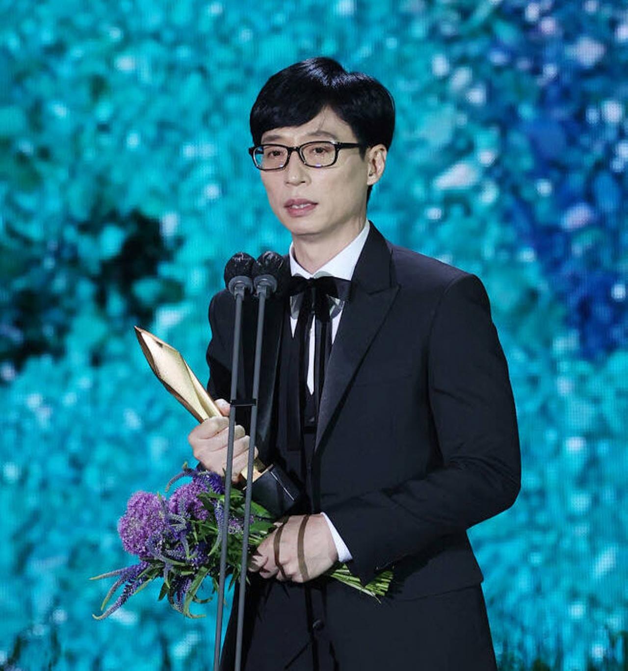 유재석, '제57회 백상예술대상' TV부문 대상 수상 - 공공투데이